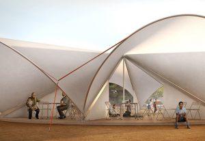 Maidan Tent, render di Filippo Bolognesi