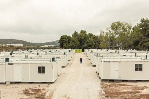 Maisha Marefu: a 'square' for the Refugee Camp in Ritsona