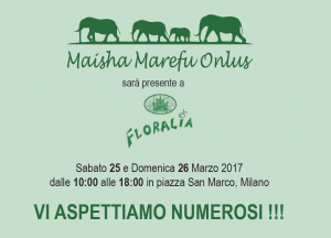Maisha is present in Floralia, Milan